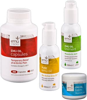 Emu Tracks Pic 5 - Relieve Arthritis Joint Muscle Conditions and Injuries with Emu Oil Products