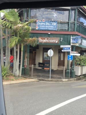 The balcony in byron bay nsw restaurants truelocal for Balcony restaurant byron