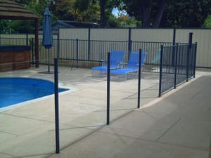 Fencespot Pic 2 - Frameless or Semiframeless Glass Pool Fence