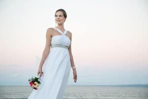 Kiss the Bride Bridal Formal and Suit Hire Pic 2 - Beach Wedding Gown