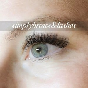 Simply Brows & Lashes Pic 2 - Russian Volume Lash Extensions