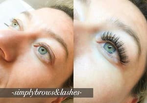 Simply Brows & Lashes Pic 3 - Russian Volume Lash Extensions