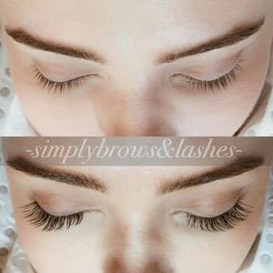 Simply Brows & Lashes Pic 5 - Classic Lash Extensions