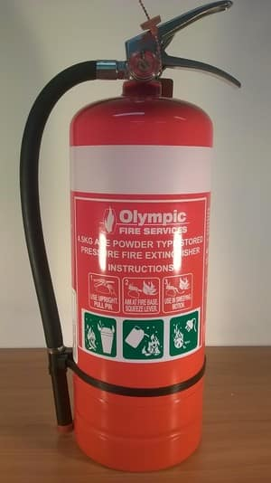 Olympic Fire Services Pic 4 - Fire extinguisher service and supply