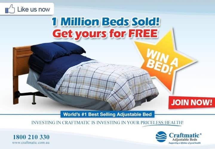 craftmatic australia - Craftmatic Bed