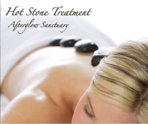 Afterglow Sanctuary Day Spa & Wellness Retreat Pic 5 - Hot Stone Massage at Afterglow Sanctuary Day Spa