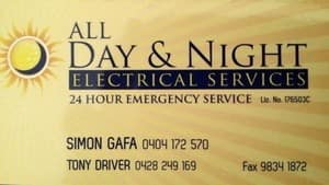 All Day & Night Electrical Services Pic 3