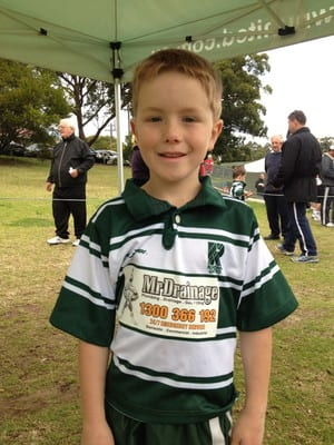 Mr Drainage Pic 2 - Mr Drainage sponsors the Renown under 7s in 2013