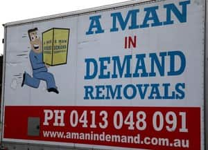 A Man In Demand Removals Pic 5