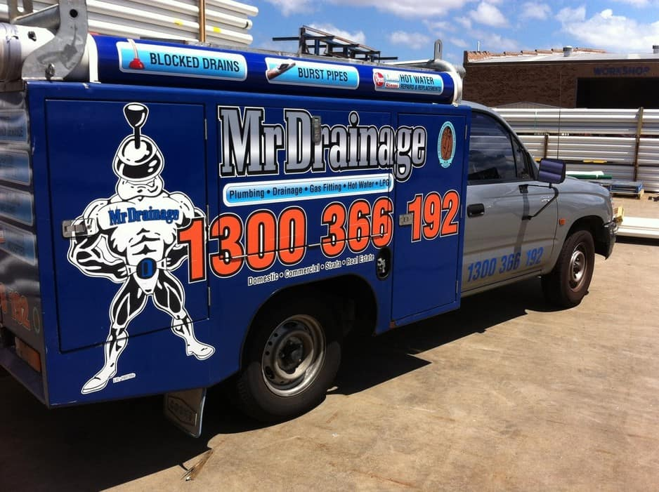 Mr Drainage Pic 1 - The Drain mobile