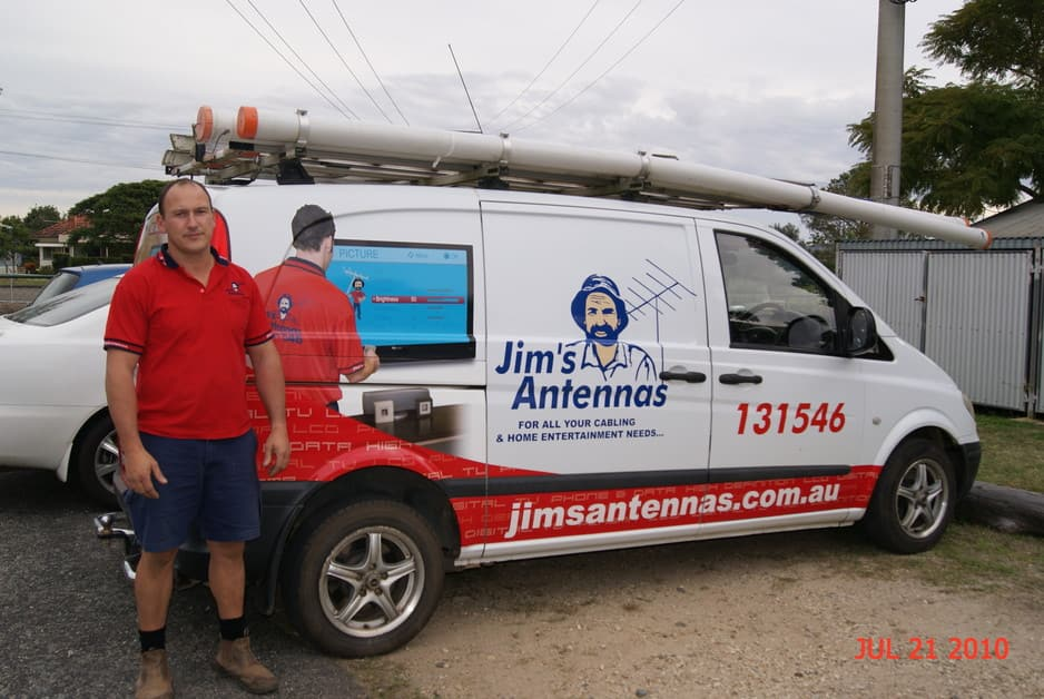 Jim's Antennas Pic 1 - Tim Matherson Jims Antennas Cooloola