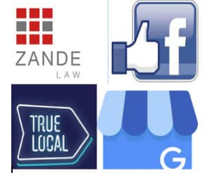 Zande Law Pic 1 - FOR your chance to win review us on true local like us on facebook share and comment done or review us on Google Business Drawn 18 December 2018