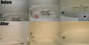Maid2Match Pic 3 - Before and after photos of a very dirty Brisbane bathroom