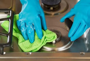 Maid2Match Pic 5 - Stove tops cleaning is something where you need to have your knowledge of cleaning products down pat