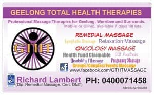 Geelong Total Health Therapies Pic 2 - Loyalty Cards