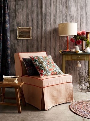 No Chintz Pic 3 - Beautiful Fabrics For Soft Furnishings from Lampshades to Cushions and Chair Slip Covers