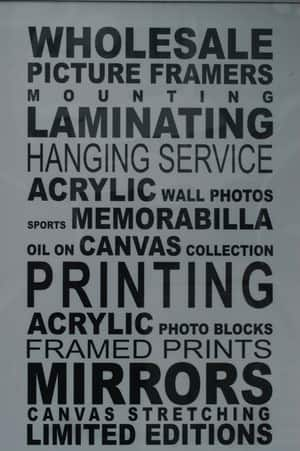 The Art & Framing Company Pic 5 - Create your own Bus scroll with all your favourite destinations and sayings Range of colours and styles available