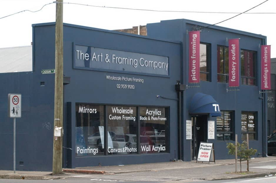 The Art & Framing Company Pic 1 - Visit our showroom or order online