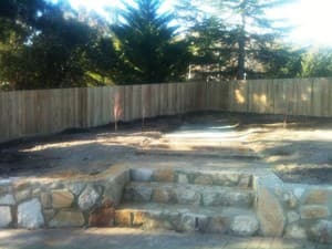 Custom Fencing Pic 4 - Timber Paling Fencing