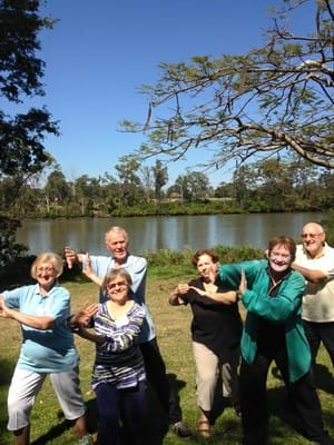 Tai Chi & Massage for Health Brisbane Pic 3 - Tai Chi at Yeronga Esplande Park