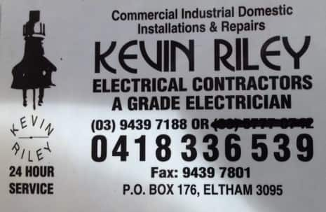 Kevin Riley Electrical Contractors Pic 1