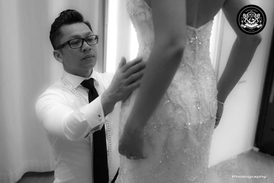 Perth Tailoring Co. Pic 1 - Anthony Van Pham Bridal Wedding Dress fitting Alterations