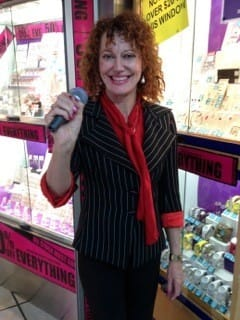 Spruiking Specialist Pic 4 - spruiker Angel spruiking jewellery both sparkling and bright