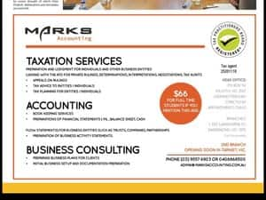 Marks Accounting Pic 4 - Every day we assist our clients to Legally Minimise Taxation Increase Profit Earnings Reduce Costs Expenses Build and Protect their Wealth