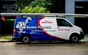 Salmon Plumbing Pic 2 - One of our Salmon Plumbing Vans