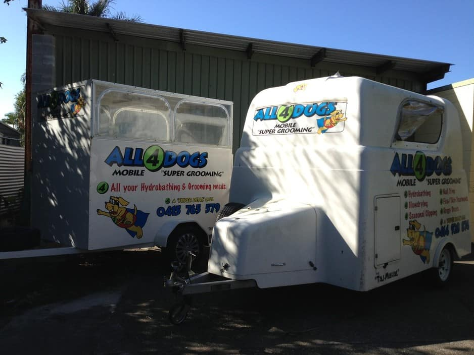 All 4 Dogs Pic 1 - 2 Mobile Trailers and More for your convenience