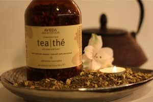 Amicus Hair and Beauty Pic 2 - Relax amicus with a beautiful AVEDA tea