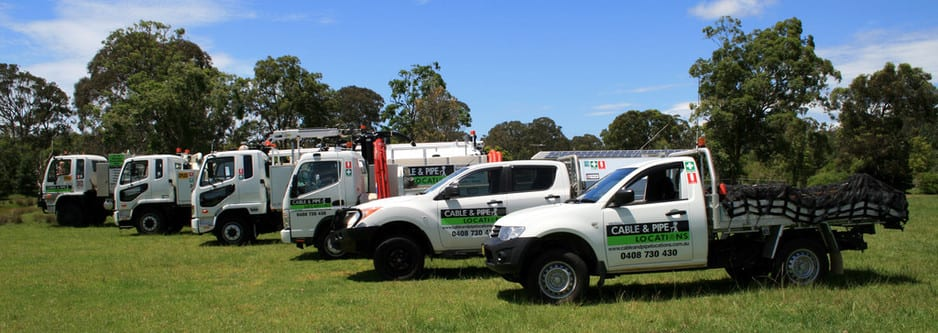 Cable & Pipe Locations Pic 1 - Our Fleet