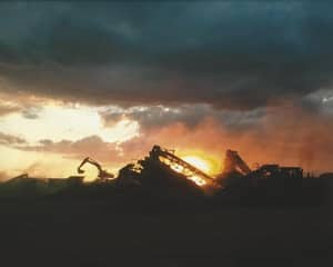 W Wall & Sons Pic 3 - Crushing at Sunset