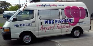 Pink Elephant Airport Parking Pic 5