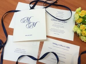 Fine Invitations Pic 2 - Classic wedding stationery from Fine Invitations Sydney