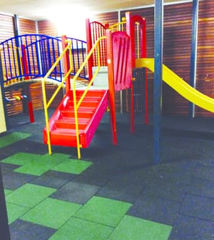 Rezz Pic 5 - indoor playground just one of 3 spaces for the kids to enjoy including outdoor fenced lawn area