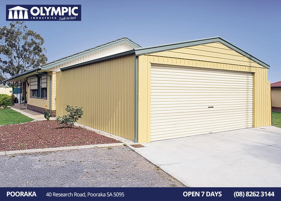 Olympic Industries Pic 1 - Olympic Industries Garages Pooraka