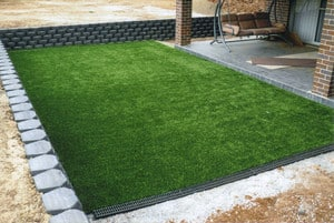 Active Industries Services Pty Ltd Pic 5 - Keystone Modular Retaining Wall and Artificial Turf Other Options Available