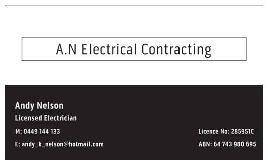A.N Electrical Contracting Pic 1