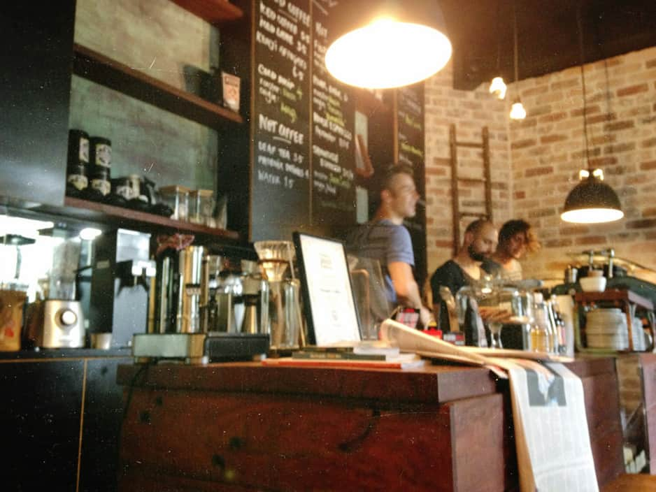 Surry hills and st peters, sydney cafes and coffee bar sample.