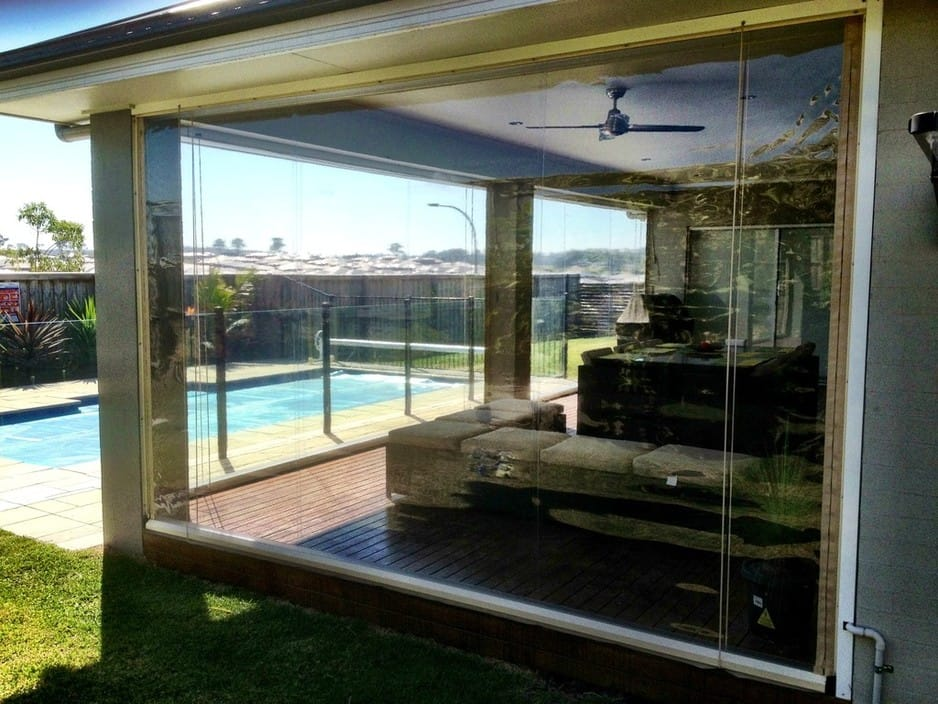Hunter Aussie Outdoor Alfresco Cafe Blinds In Bolwarra