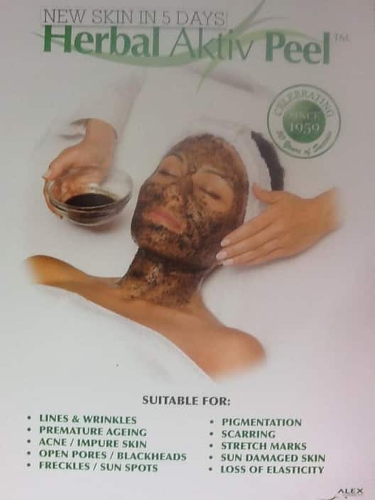Laila's Beauty & Laser Pic 1 - Herbal Peel excellent for all skin types