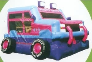 RidesnSlides Pic 4 - Monster Jeep Jumping Castle