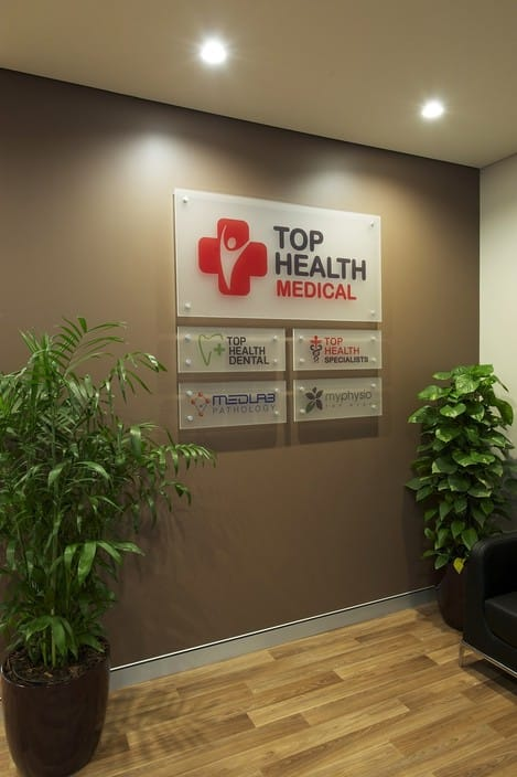 Top Health Medical Centre Pic 1 - feature wall