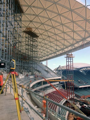 Engineering Surveys Pty Ltd Pic 3 - Adelaide Oval Southern and Eastern Stands Redevelopments