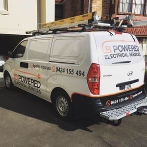 B Powered Electrical Services Pty Ltd Pic 3 - Look out for our vans Sydney wide
