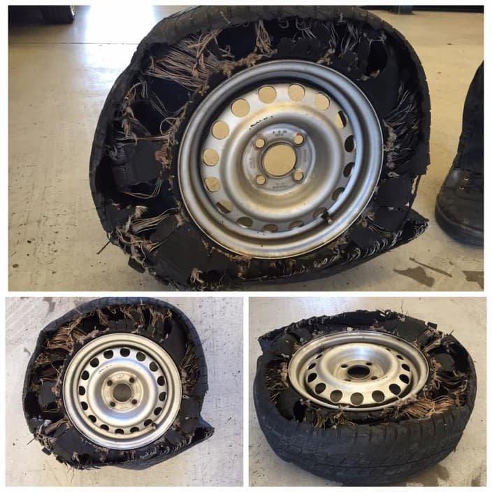 Southwest Automotive Pty Ltd Pic 1 - Blown out tyre one of the worst weve ever seen