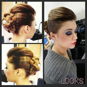 Looks Hair and Beauty by Neeta Pic 2 - Elegant Hair Up