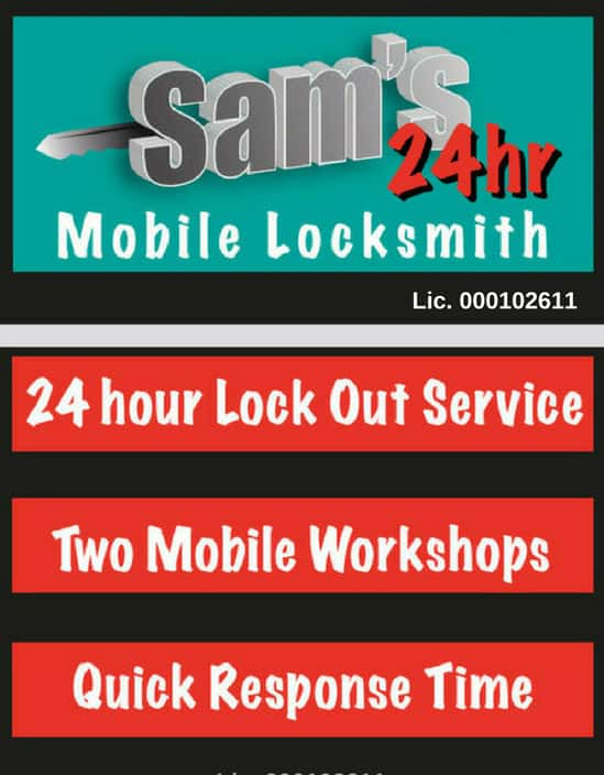 Sam's 24 hour cheap locksmith Pic 1