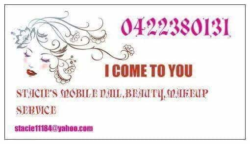 Stacie's Mobile Nail Beauty Make-up Service Pic 1